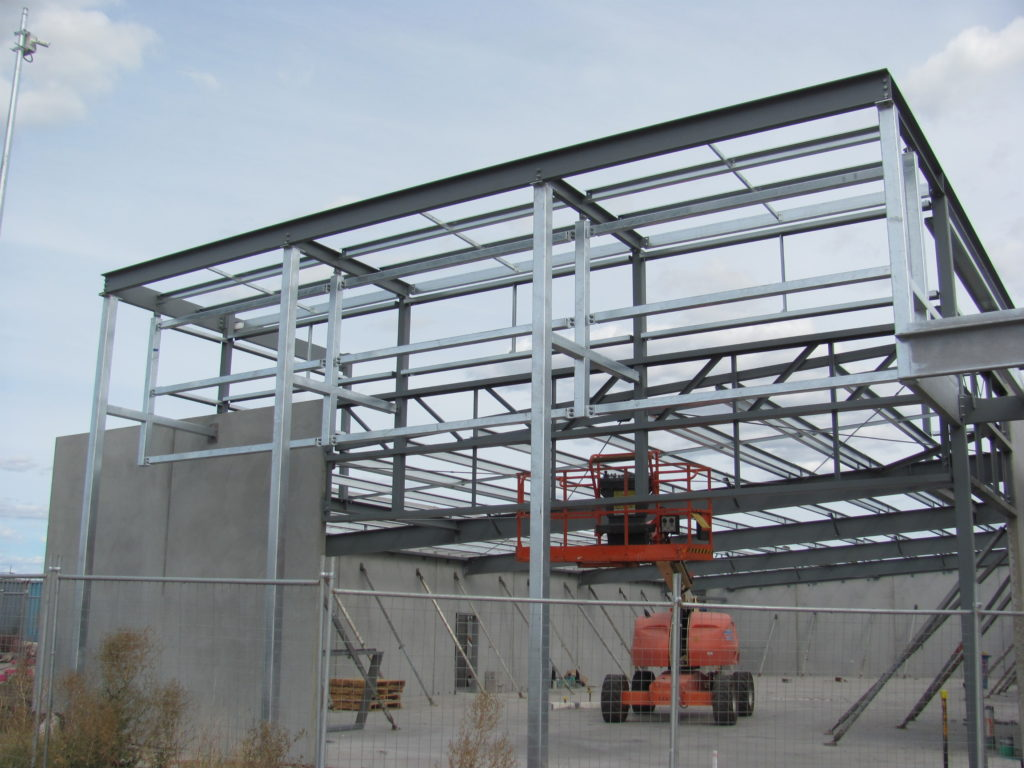 Building B Steel Framing