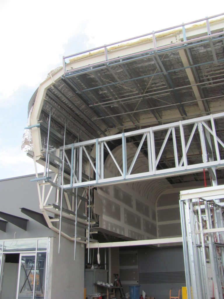 Curved Steel Framing